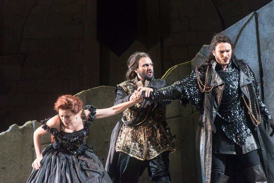 Vasa Stajkic (Tebaldo) e Leonardo Cortellazzi (Capellio) - Ph Marta Massafra Giulietta e Romeo