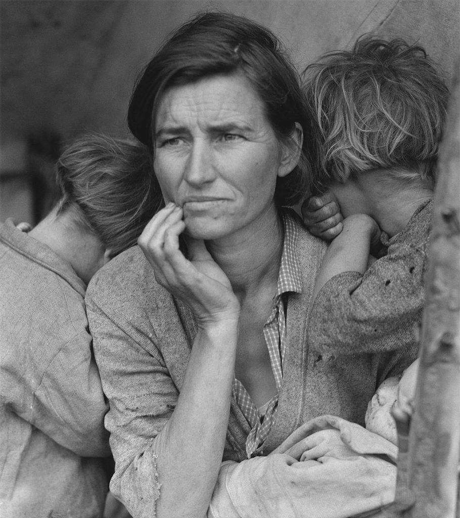 the migrant mother photo Dorothea Lange