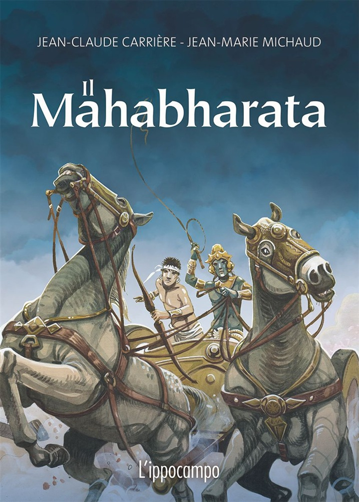 mahabarata graphic novel copertina