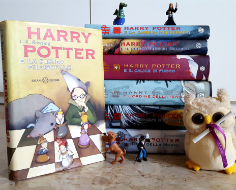 harry potter libri garzanti